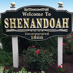 Welcome to Shenandoah